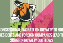 Concessional Tax Rate on Royalty