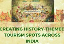 Indian Tourism could be history themed
