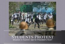 As students take to the streets to protest, is law and order slipping out of control for the PDP-BJP regime?