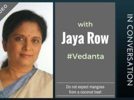 Do not expect mangoes from a coconut tree, says Jaya Row