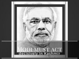 Recently surfaced videos depicting pushing/ shoving and spitting at security personnel should make Modi act more decisively in Kashmir