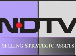 NDTV writes to BSE, NSE declares intent to sell strategic assets