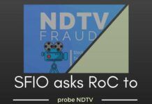 In addition to IT, ED, CBI and EOW, the SFIO has also written to the Registrar of Companies to look into complaints against NDTV