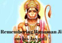 Hanuman Ji, anchor of my life