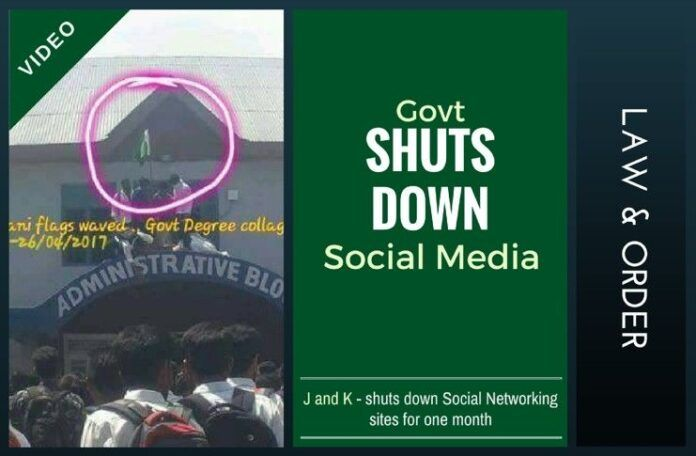 With Social Networking sites shut down for a month, the J&K government hopes to assert control in South Kashmir valley.
