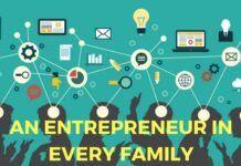 An entrepreneur in each family of India