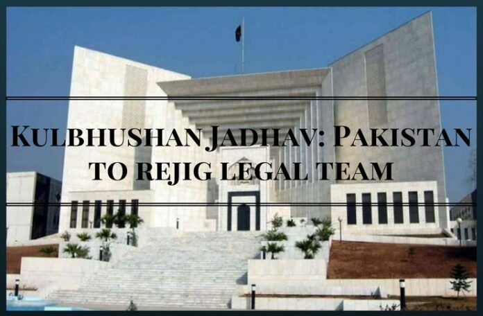 New legal team to be set up by pak