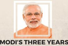 Modi govt. completes three years