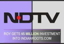 NDTV group company IndianRoots gets $5M funding from a company being investigated in the Coal Scam