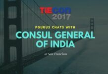 The TIE annual event gets bigger and bigger with each year. A brief chat with the CG of India on Government's role in bringing US & India together