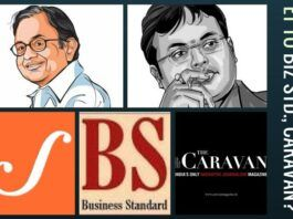 Scroll post that gets published in Business Standard and Caravan - Paid News? Are reputed sites also under pressure?