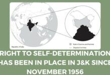 Self-determination rights in J&K