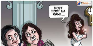 Everyone wondering why 2 key journos who were in touch with Sunanda are keeping silent, as the ghost of Sunanda sings Dost Dost Na Rahi...