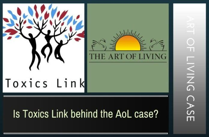 A deep dive into the forces arrayed against AoL in the NGT points to Toxics Link as a possible entity