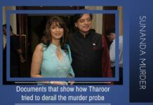 4 Documents that show how Shashi Tharoor tried to confuse AIIMS on the state of health of his wife
