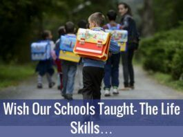Wish Our Schools Taught These Life Skills…