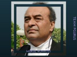 Mukul Rohatgi the current AG finishes his term in office today - New AG to be announced next week