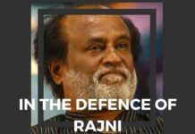 Rajni can give it a sincere try