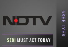 SEBI must stay the Postal Ballot of NDTV seeking sale of equity stake TODAY