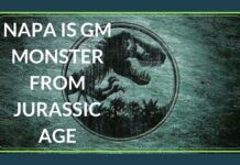 Napa, A GM monster