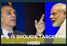 Shourie targets Modi