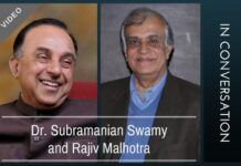 Dr. Subramanian Swamy in conversation with Rajiv Malhotra