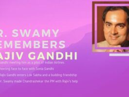 Rajiv Gandhi would have made one of the finest Prime Ministers if he had lived, says Dr. Swamy