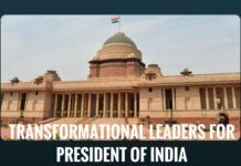 Transformational Leaders for President of India