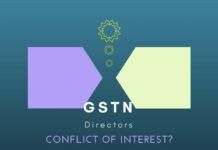 Former Secretary of India urges FM to look into possible Conflict of Interest of 2 Directors in GSTN