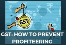 GST: How To Prevent Profiteering