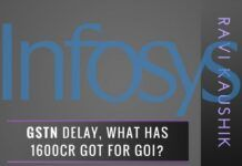 Will Infosys be fined for the delay in implementing GSTN Backend?