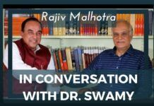 Rajiv Malhotra in conversation with Dr. Swamy