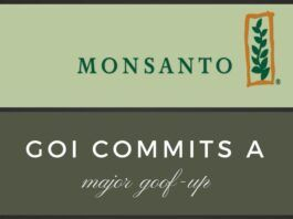In a major goof-up, GOI fails to submit before Delhi High Court on GMO involving Monsanto