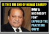 Nawaz Sharif's daughter lands him in huge trouble with this Microsoft font