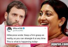 Rahul gets a lesson from Smriti