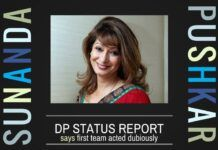DP Status Report on Sunanda murder casts doubts on its first team