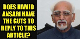 Few questions to Hamid Ansari