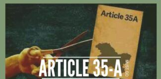 Time for abrogation of Article 35-A