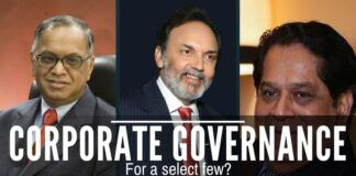Is Corporate governance in India selective? Would Mr. Murthy like to clarify?
