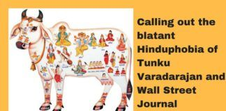 """Rebuttal to Varadarajan's article """"The Holy Cows That weren't"""""""