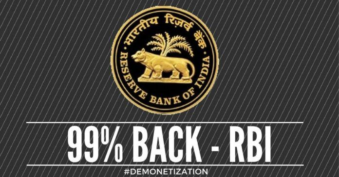 RBI numbers indicate that much of the Black Money has been converted