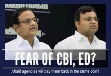 Is Karti afraid he will receive third-degree treatment for past deeds?