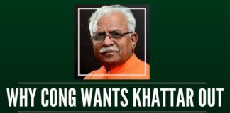 Why is Congress trying to make Khattar to quit?