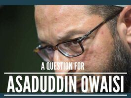 A question for Mr. Owaisi