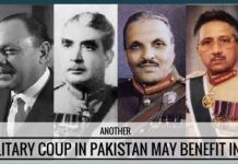 Another military coup in Pakistan may actually beneficial for India