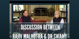 Rajiv Malhotra in conversation with Dr. Swamy