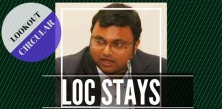 CBI justifies the reason for keeping the lookout circular active against Karti Chidambaram