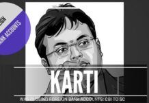 CBI explained why it issued an LOC against Karti Chidambaram