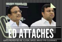 1 crore seized from Aircel-Maxis proceeds of Chidambaram, Rs. 5,99,999 to go...