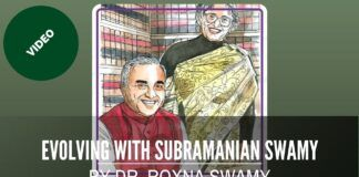 "Complete video of the launch of the book, ""Evolving with Subramanian Swamy"" by Roxna Swamy"
